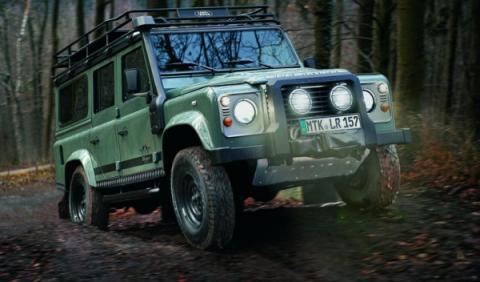 Land Rover Defender Blaser Edition frontal