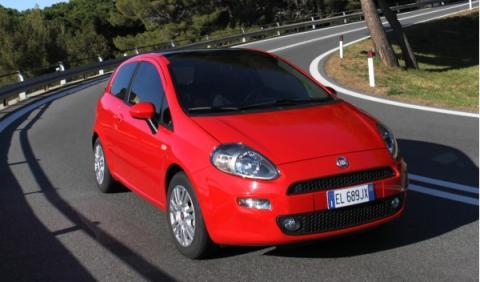 Nuevo Fiat Punto 2012 Frontal