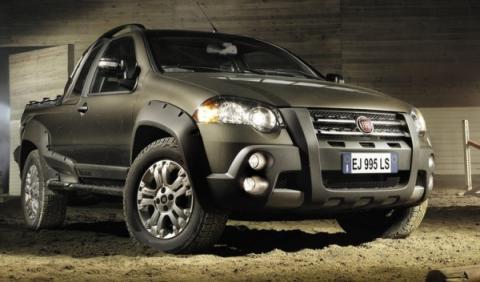 Fiat Strada 2012 Adventure frontal