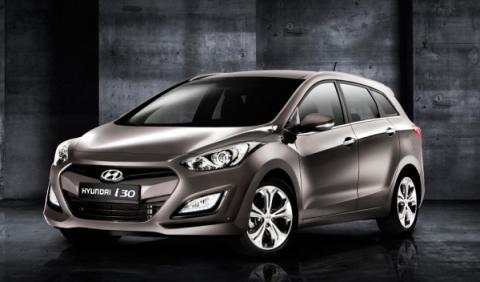 Hyundai i30 wagon frontal