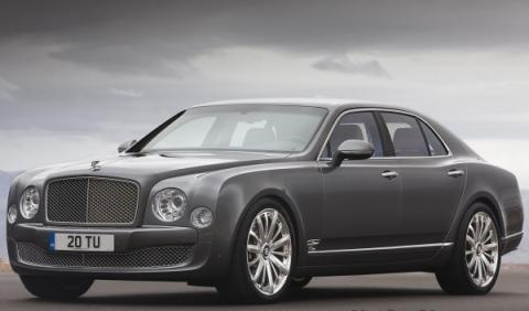 Bentley Mulsanne Mulliner frontal lateral