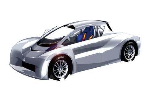Mitsubishi i-MiEV competirá en el Pikes Peak 2012 frontal
