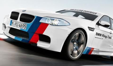 El BMW M5 2013 Ring-Taxi llega a Nürburgring