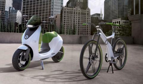 El scooter de Smart llegará en 2014