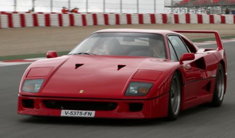 25 Aniversario del Ferrari F40 en Montmeló 3/4