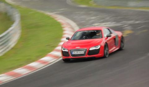 El Audi R8 e-tron bate un nuevo récord en Nürburgring