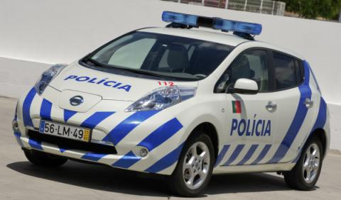 Nissan Leaf Policía portuguesa