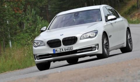 BMW Serie 7 Apoyo en curva