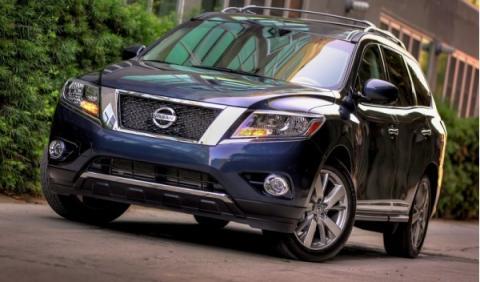 Nissan Pathfinder, frontal
