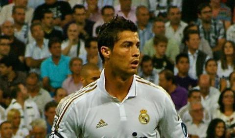 El coche de Cristiano Ronaldo