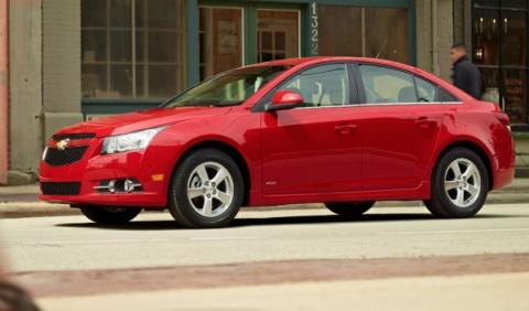 El Chevrolet Cruze 2014 estrenará la nueva plataforma de GM
