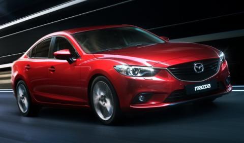 Mazda6 2013 frontal