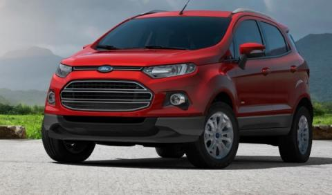 Ford EcoSport, frontal