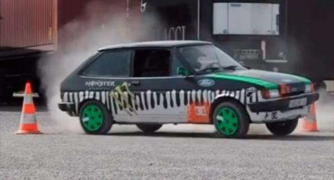 'Otro' Ken Block con un Ford Fiesta algo más veterano