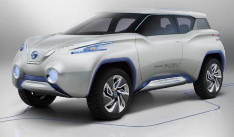Nissan Terra SUV Concept, frontal