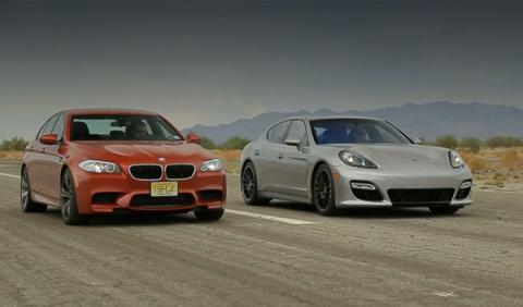 Porsche Panamera GTS y BMW M5, frente a frente