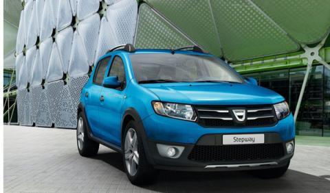 Dacia Sandero Stepway delantera