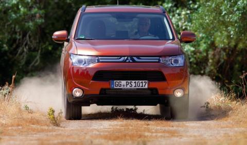 Nuevo Mitsubishi Outlander, frontal