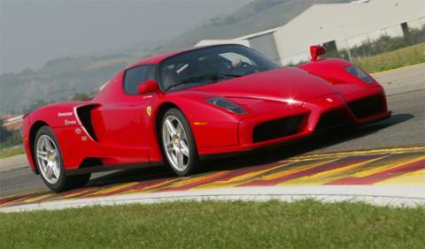 A subasta el Ferrari Enzo de Jenson Button