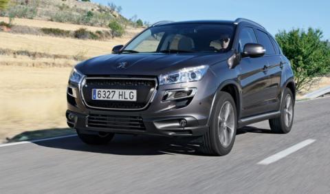 Peugeot 4008 1.8HDI frontal