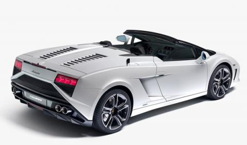 Lamborghini Gallardo 2013 Spyder estática trasera
