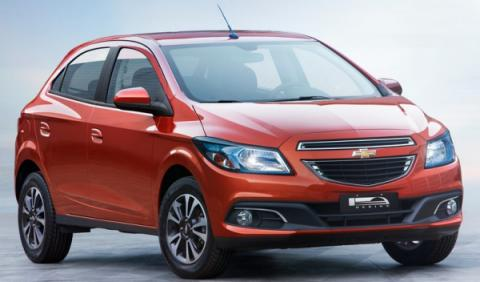 Chevrolet Onix frontal