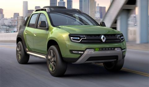 Renault DCross Concept, el primo lejano del Dacia Duster
