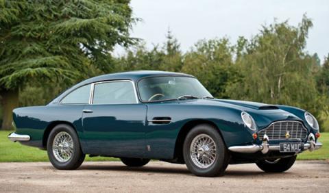 Aston Martin DB5 Paul McCartney subastado