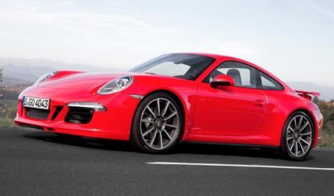 Frontal del Porsche 911 Carrera 4