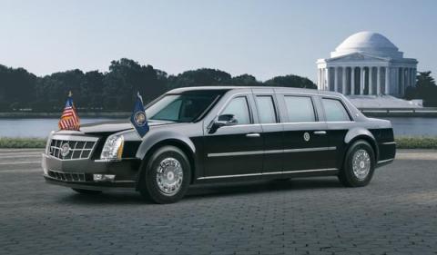 Cadillac dts presidencial barack obama