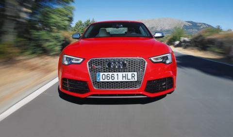 Frontal del Audi RS 5 Coupé