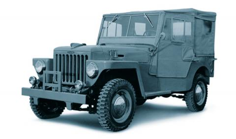 1951 Toyota BJ Jeep