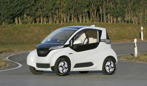Honda Micro Commuter Prototype: el rival del Renault Twizy
