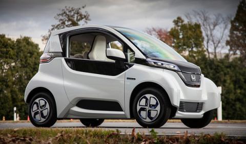 Honda Micro Commuter Prototype dinámica