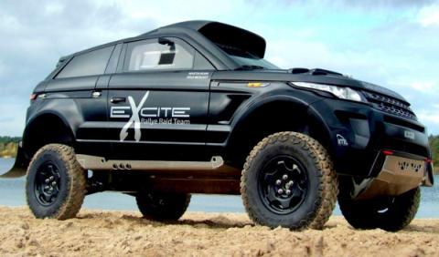 Range Rover Evoque Desert Warrior, preparado para el Dakar