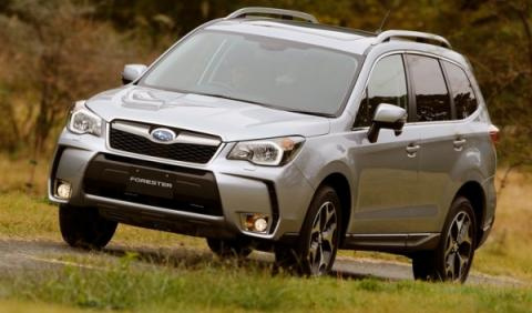 Subaru Forester 2013, delantera