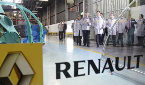 Renault anuncia el Plan Industrial 2014-2016 para España