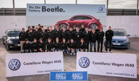 El Atlético de Madrid, invitado de la Volkswagen Race Tour