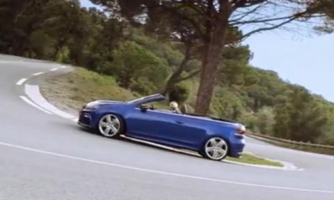 Vídeo: Volkswagen Golf R Cabrio en acción