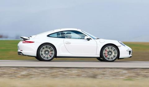 Porsche 911 Carrera 4S (991) dinámica barrido lateral