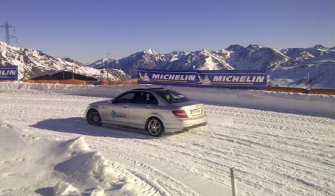 Experiencia 4Matic, Michelin