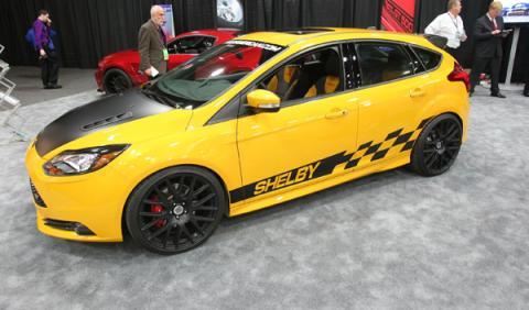Focus ST Shelby: visto en el Salón de Detroit