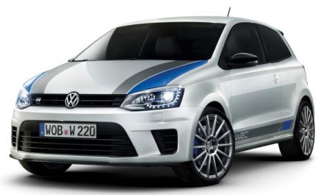 Volkswagen Polo R WRC frontal