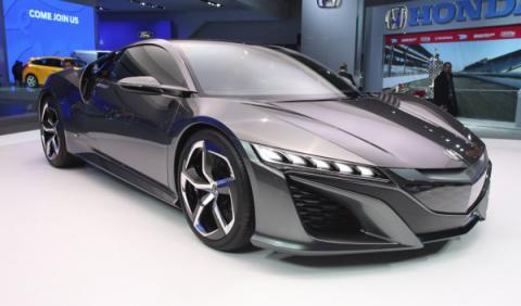 Honda NSX salón Detroit 2013