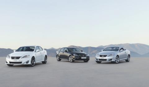 Lexus realiza una llamada a taller para la gama IS