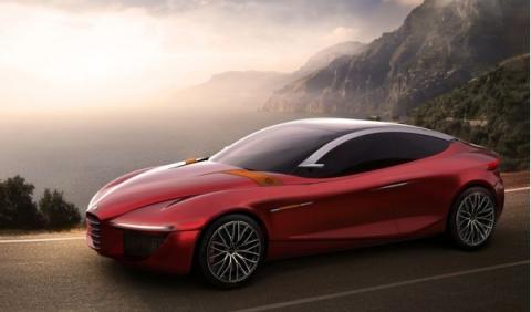Alfa Romeo Gloria Concept: listo para el Salón de Ginebra