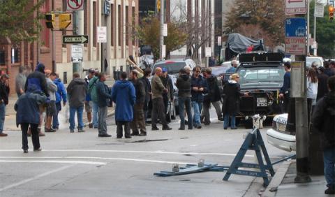 132 coches destruidos en una escena de 'Jungla de Cristal'