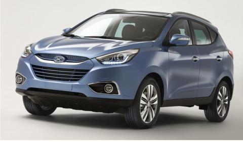 Hyundai ix35 2013: primera imagen antes de Ginebra 2013