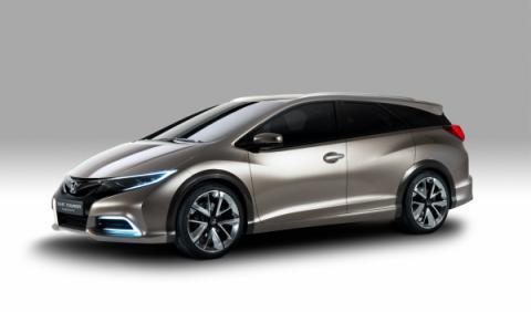 Honda Civic Tourer frontal