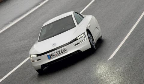 Volkswagen XL1 delantera
